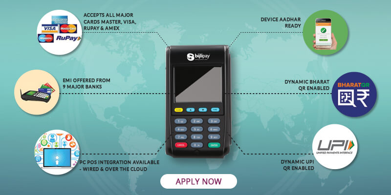 Card Swipe Machine| POS Terminal | Credit Card Machine| India